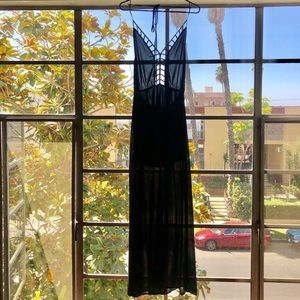 Long, Black Formal Dress
